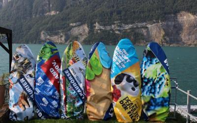Surfbags – aus rezyklierten Blachen