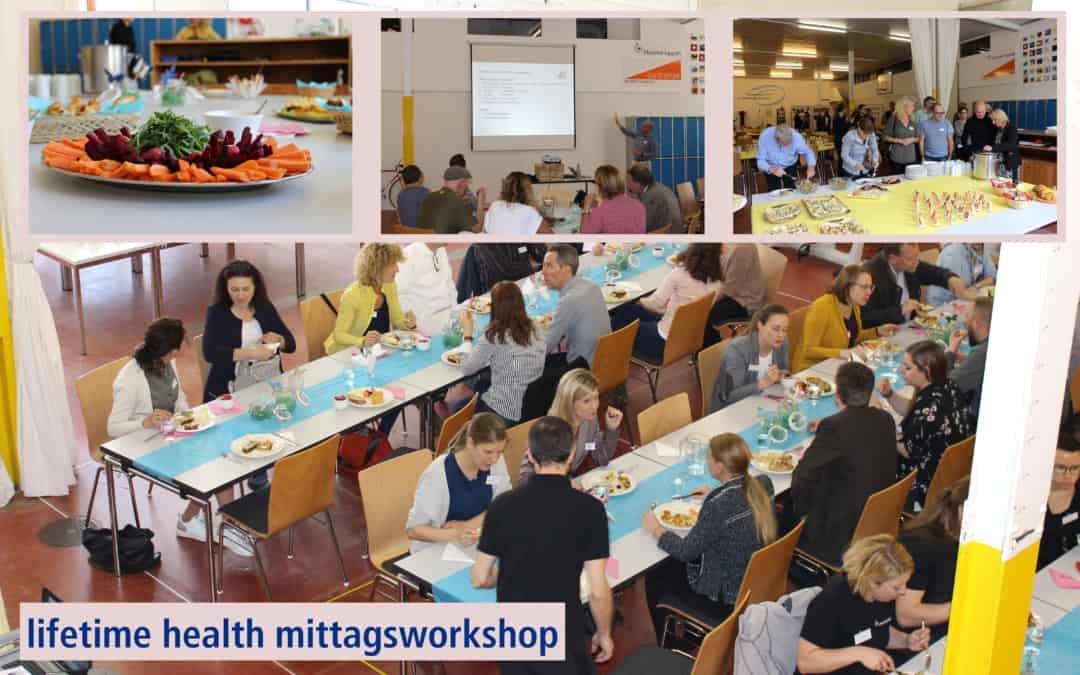 24. lifetime health Mittagsworkshop: Arbeitsunfähigkeiten und Betriebskultur