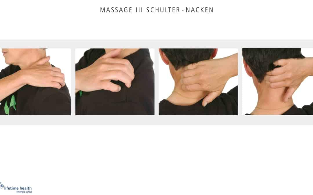 In Bewegung bleiben: Eigen-Massage / Gewinnen Sie eine Einführung in den Energie-Pfad für Ihr Team!