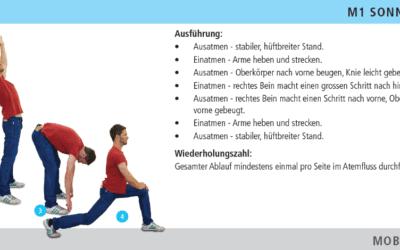 Bei Arbeit mit hoher Belastung sollte unser Körper wie im Sport vorbereitet werden!