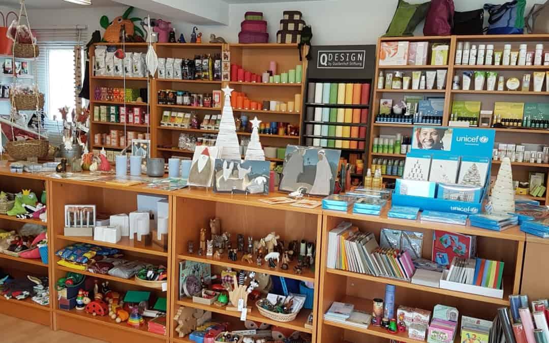 Startrampe-Produkte auch im claro Weltladen in Wetzikon erhältlich